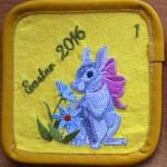 zajaczek wielkanocny podstawka